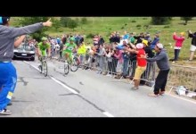 Peter Sagan bavi divakov na Tour de France